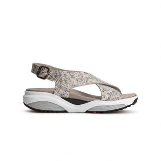 corfu sandal silver snake